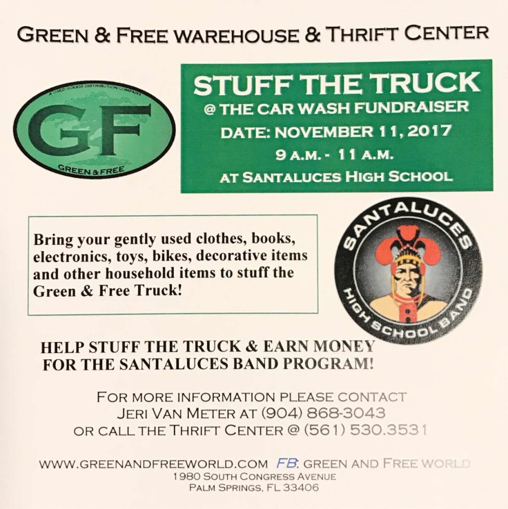 Stuff the truck flyer
